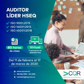 Auditor Lider HSEQ febrero
