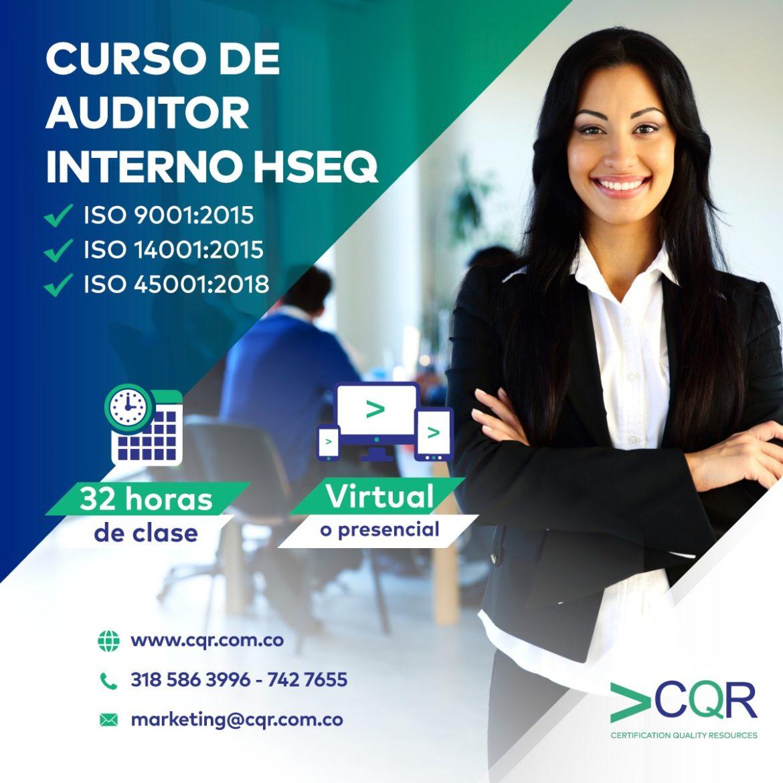 Auditor Interno HSEQ - CQR Cotecna