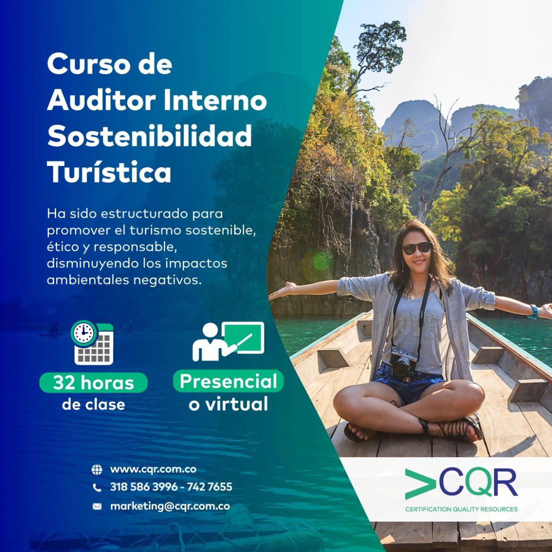 Auditor Interno Sostenibilidad Turística CQR Cotecna