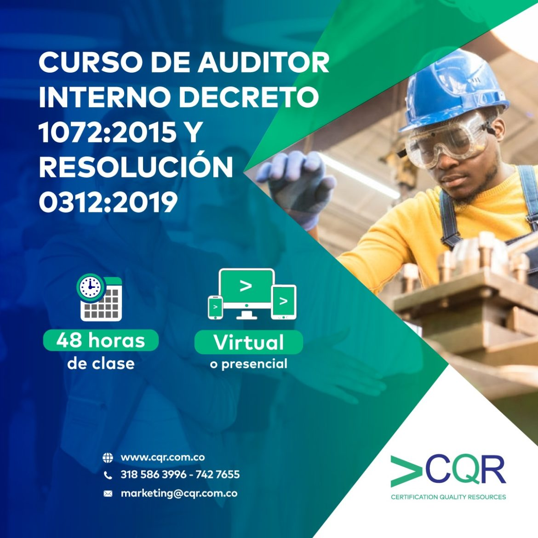 Curso Decreto 1072 - CQR Cotecna