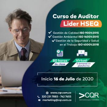 Auditor HSEQ Julio Lider CQR