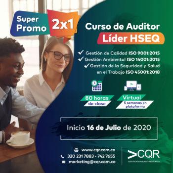 Auditor Lider promo Julio