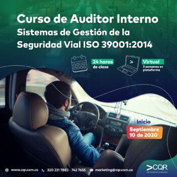 Auditor Interno Seguridad Vial CQR