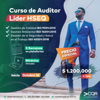 Auditor Líder HSEQ Octubre CQR