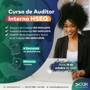 Auditor Interno HSEQ Octubre CQR