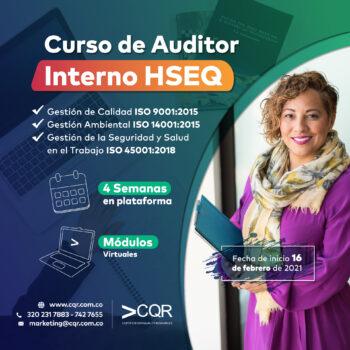 Auditor Interno HSEQ CQR