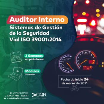 Auditor ISO 39001 Marzo