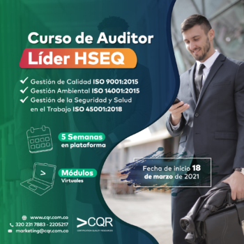 Auditor Lider HSEQ Marzo