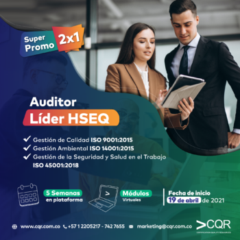 Auditor Líder HSEQ Abril